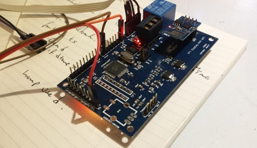 Arduino board with ESP-01