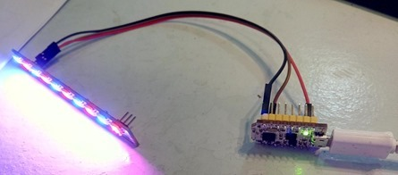 WS2812B LEDs on nodeMCU Lua