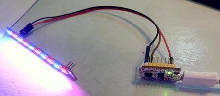WS2812B LEDs on nodeMCU Lua