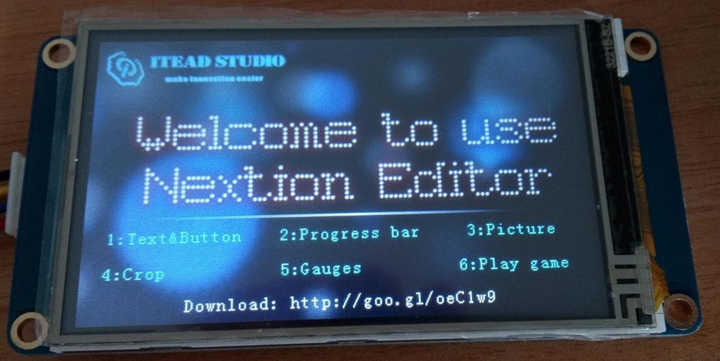 Nextion Display