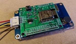 Rear View of the WIFI serial board