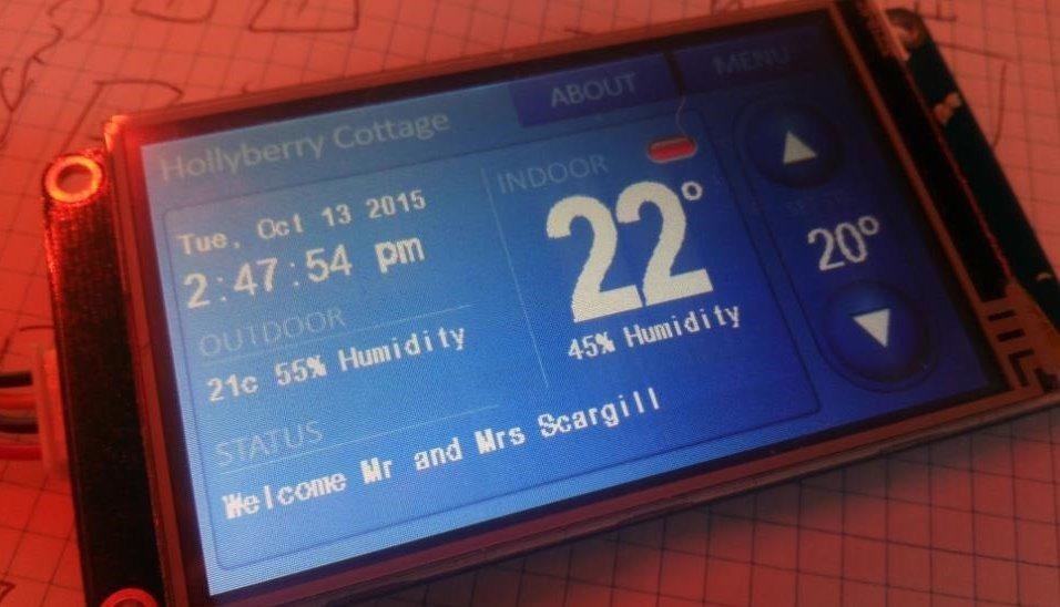 ESP8266 Home Control 2016