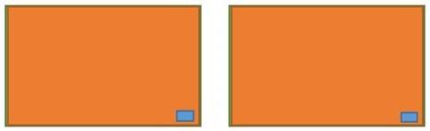 2 blocks - counters at end