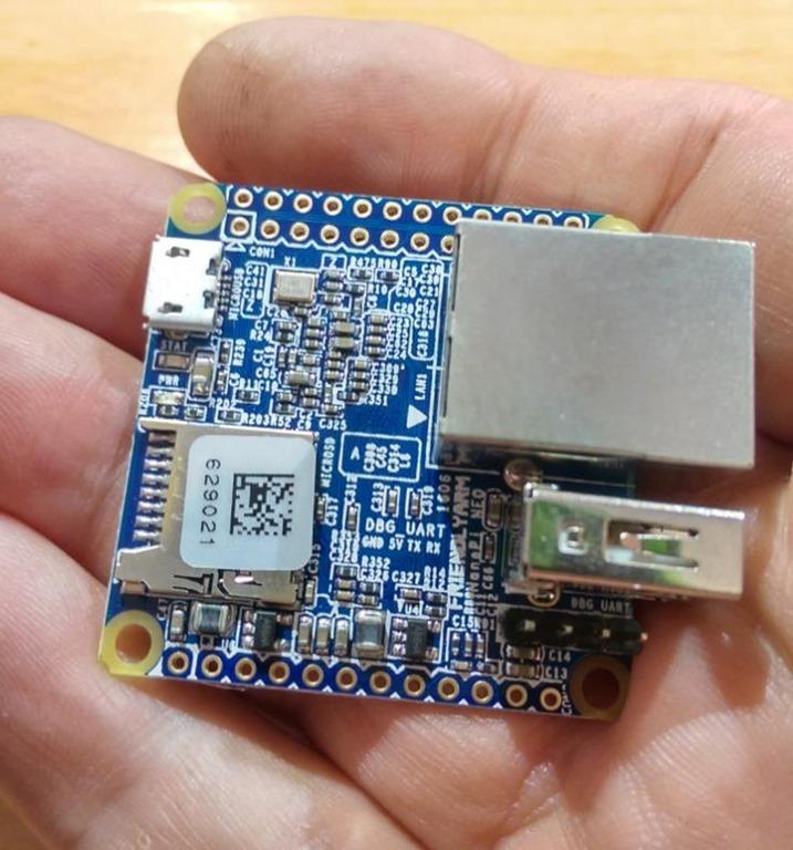 The NanoPi Neo - Scargill's Tech Blog