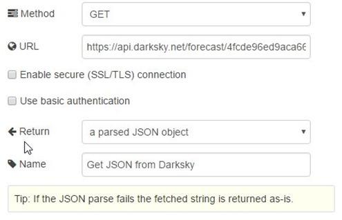 DarkSky details