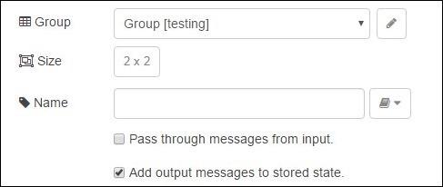 Template tick-box settings