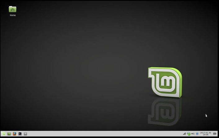 Linux Mint on an old Dell laptop