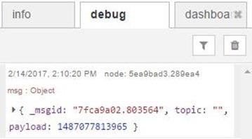 Full debug message