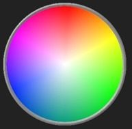 Possible use in a colour wheel