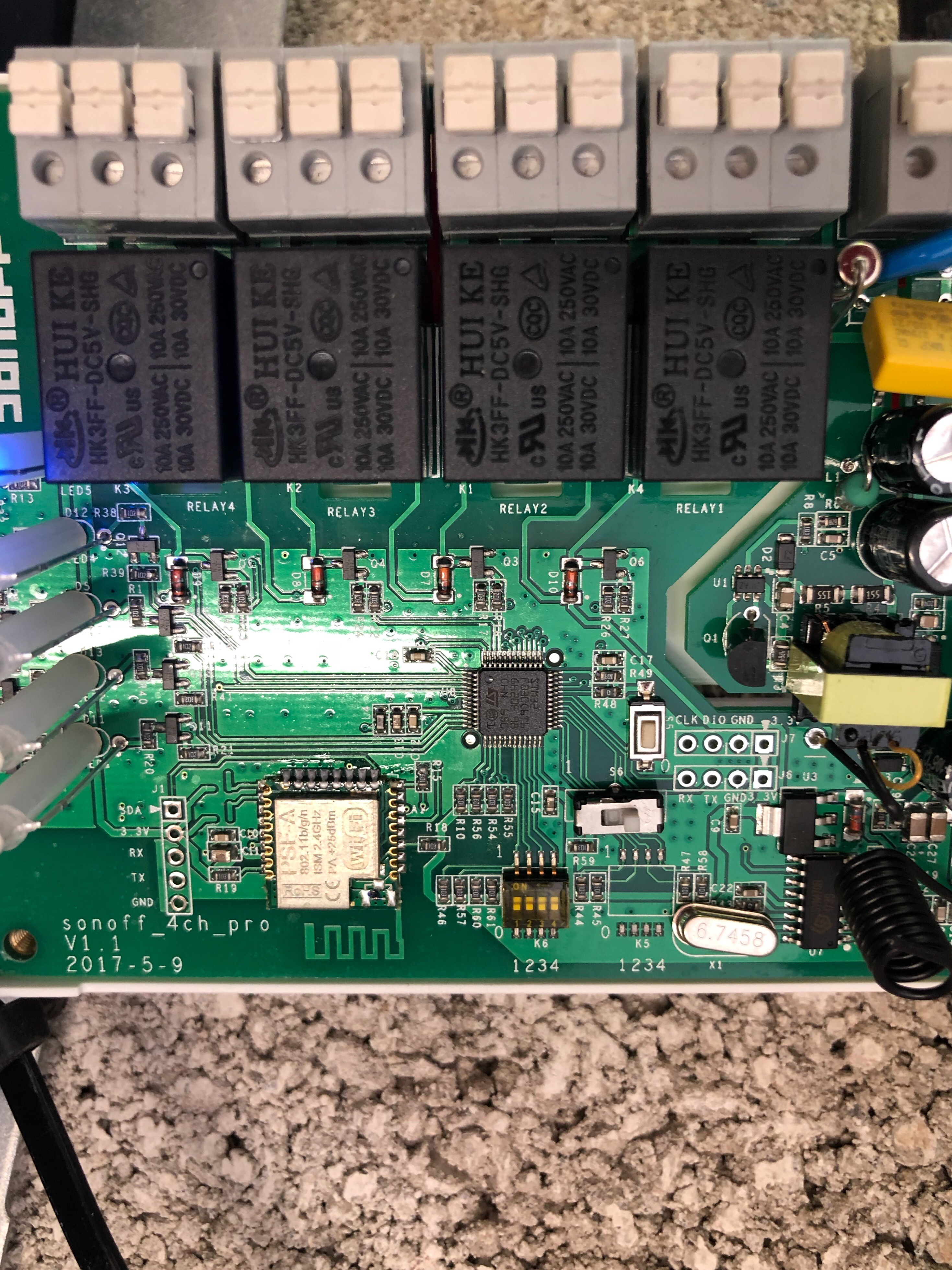The Sonoff 4ch Pro Scargills Tech Blog Aliexpresscom Buy 37v Pcb Circuit Board Battery Protection Has Anyone Seen This And If So Can You Tell Me How To Configure Inching Without K5 Or Have I Been Sold A Faulty Unit Thanks In Advance