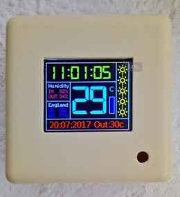 ESP8266 Wall Display