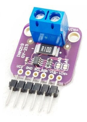 INA219 IC2 Added to ESP8266 code - Scargill's Tech Blog