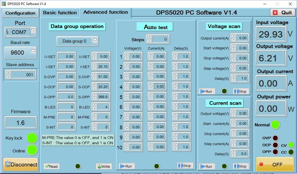 DPS5020 and DPS3003 PSUs - Scargill's Tech Blog