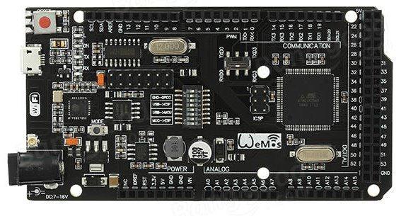 ESP8266 and ATMEGA2560 Mega Board - Scargill's Tech Blog