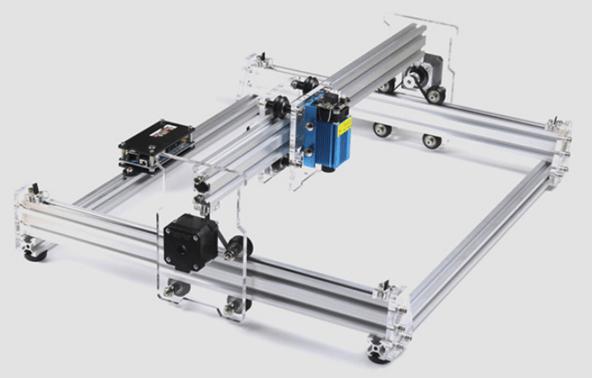 (Mostly) asssembled laser engraver