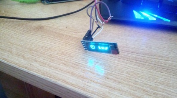 OLED running on the Orange Pi Plus 2E