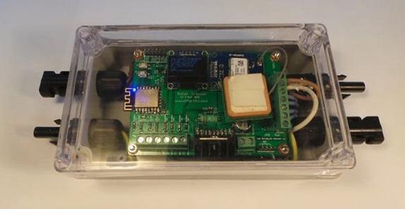 Aidan's solar tracker PCB