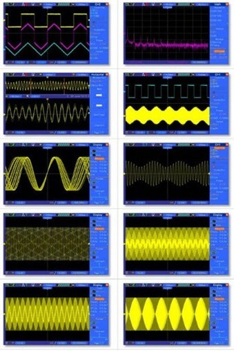 DSO 5102P waveforms