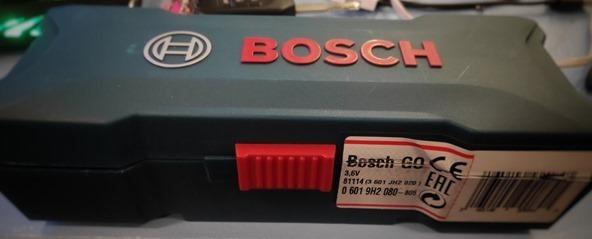Bosch Go Screwdriver