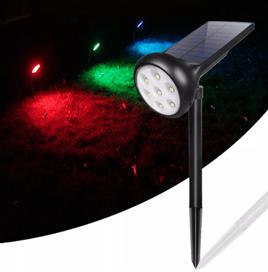 7 LED Solar Lamp