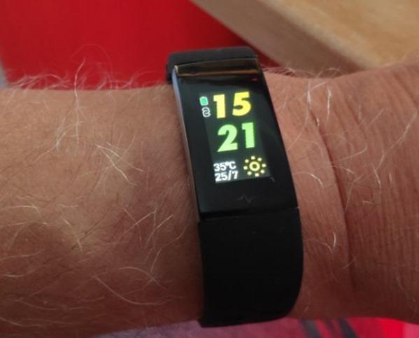 Alfawise bracelet from Gearbest
