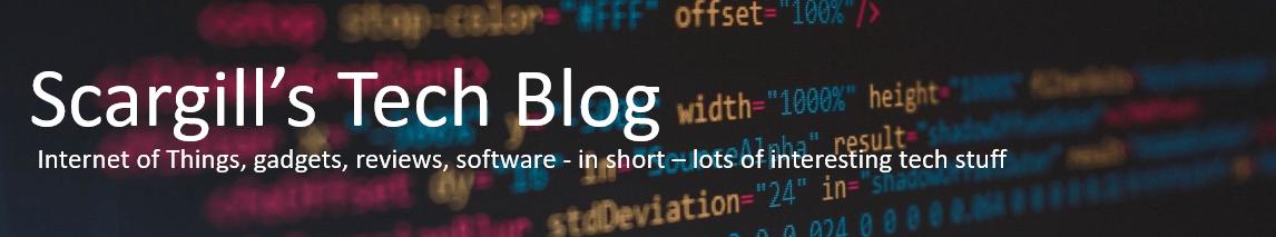 Scargill's Tech Blog