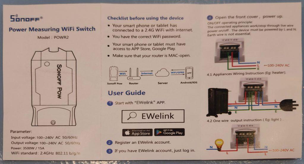 EWELINK and Cloud use