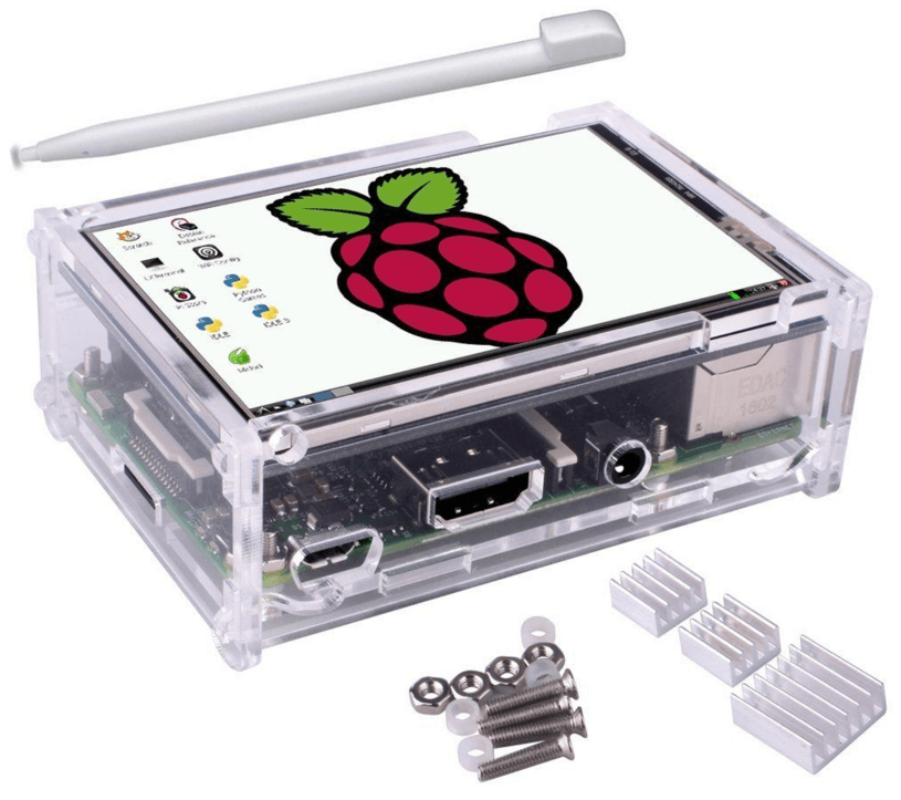 RPI 3 LCD Screen and case