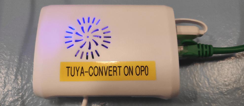 Tuya-Convert box (Orange Pi Zero and NodeMCU)