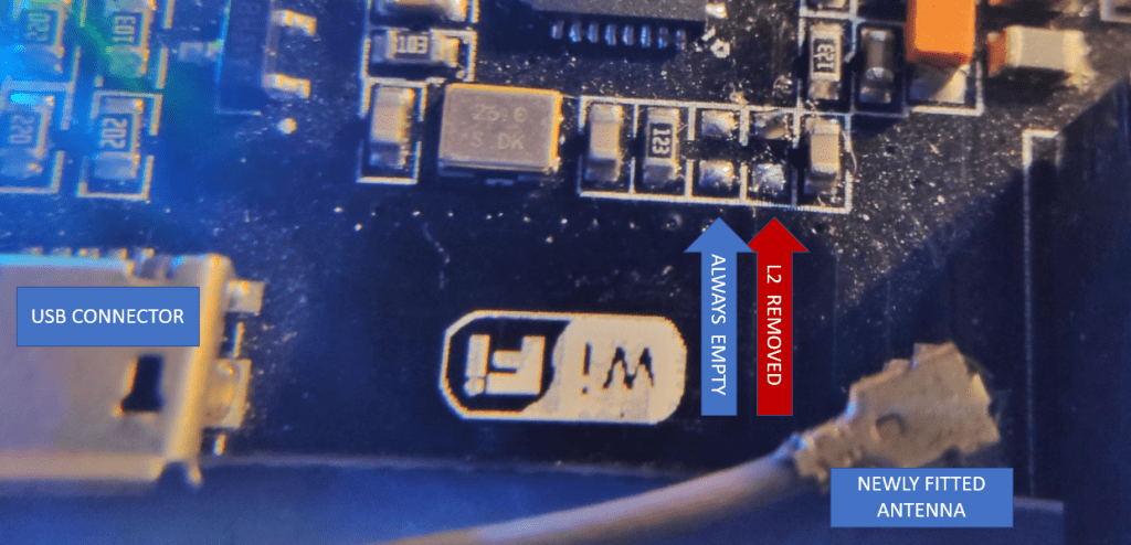 Photo of Arduino Mega + ESP board