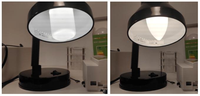 Zemismart lamps E27 RGBW