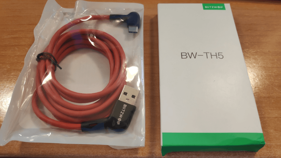 7-in-1 USB Hub and USB C 90 degree lead from Blitzwolf and Banggood