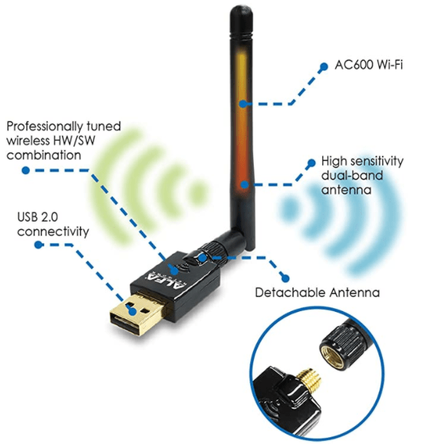 GL-iNet pointed me to this WiFi adaptor for use with their Brume-W router