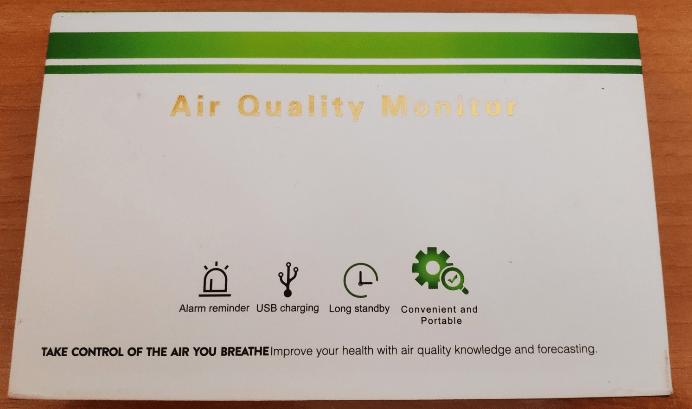 Air Quality Monitor from Banggood