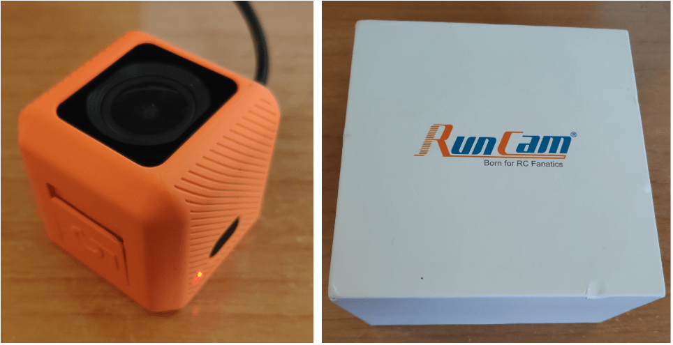RunCam Orange 5 4K camera