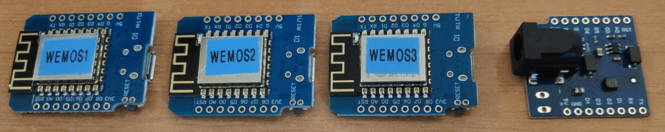 Wemos D1 Mini + Power Shield