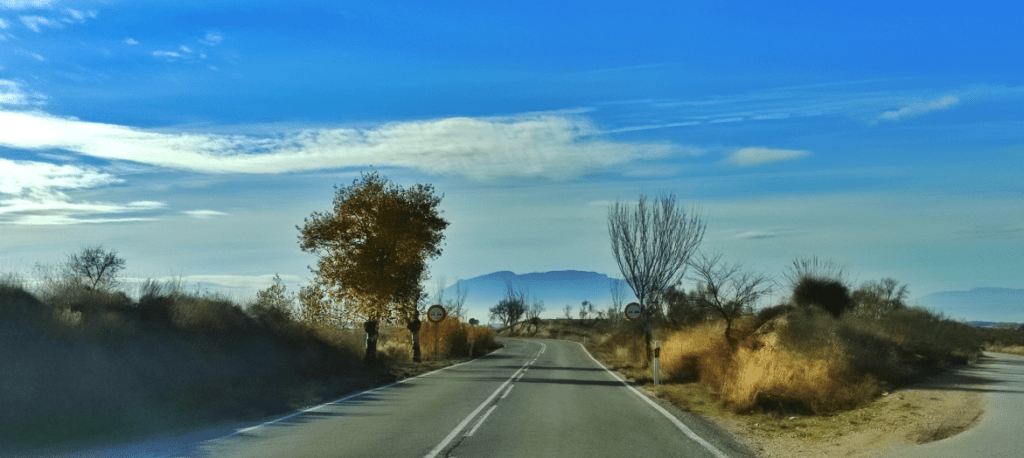 Approaching Cullar in Granada Region of Spain - taken by Poco X3