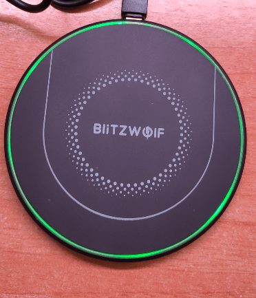 Wireless charging the Doogee S68 Pro using the Blitzwolf wireless charger