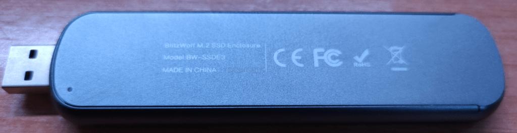 Blitzwolf SSD Enclosure