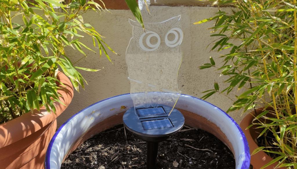 Solar RGB Owl