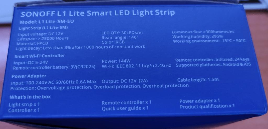 Sonoff L1 Lite Smart LED Lighting