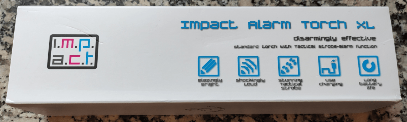 Impact Alarm Torch XL
