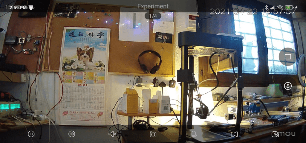 Imou Bullet 2C - Peter Scargill's Office