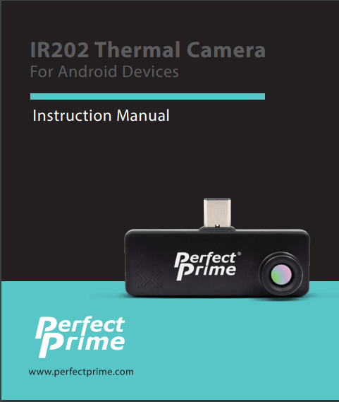 Perfect Prime IR202 IR camera add-on - manual available online