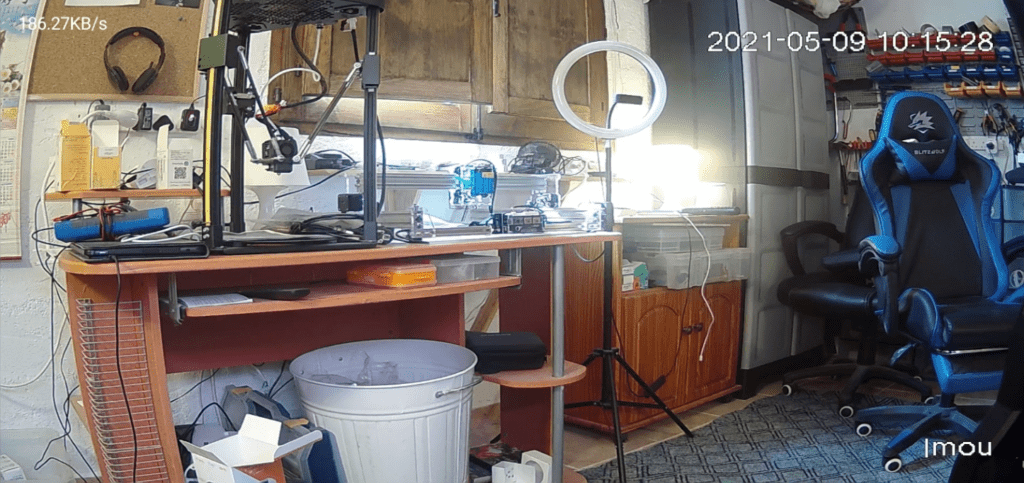 Ranger 2C camera output - normal artificial lighting