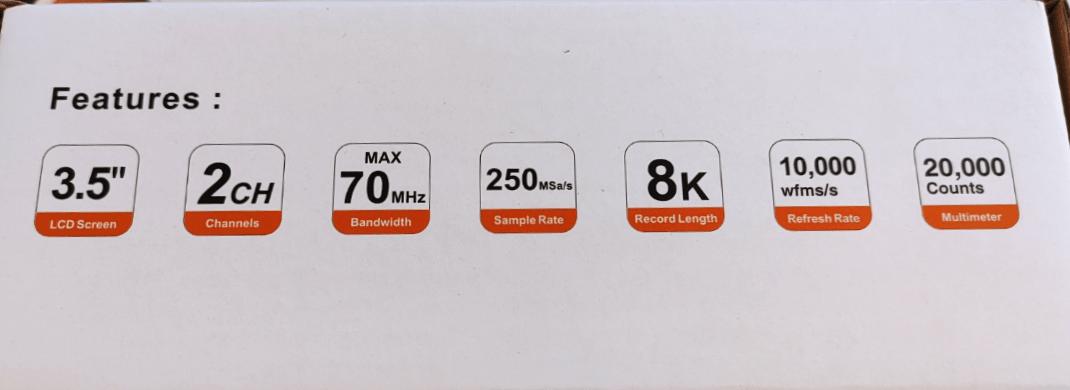 Owon HDS272S Scope/Meter