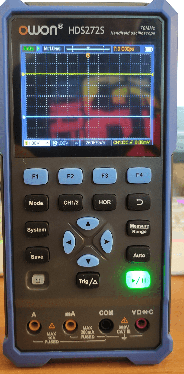 Owon HDS272S meter/scope/function generator