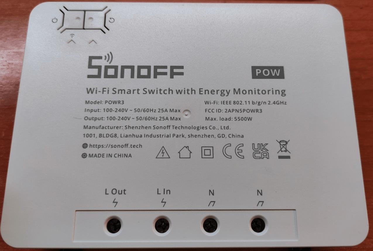 Sonoff POWR3