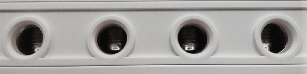 Chunky connectors