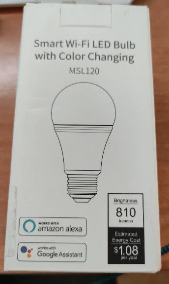 Meross MSL120 RGBW Lamp